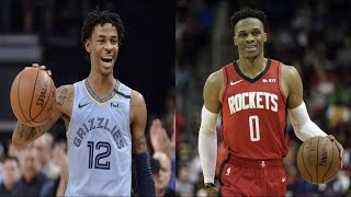 "NBA HIGHLIGHTS ""I Play Like You"" COMPILATION (Russell Westbrook, Ja Morant, etc.)"