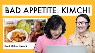 Koreans Learn to Make Kimchi from Brad (Bad Appetite Magazine)