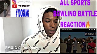DUDE PERFECT ALL SPORTS BOWLING BATTLE REACTION 🔥