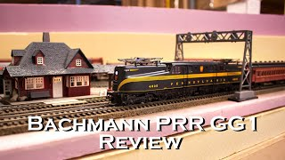 Bachmann PRR Pennsylvania GG1 Electric Locomotive Unboxing & Review (DCC Sound Value)