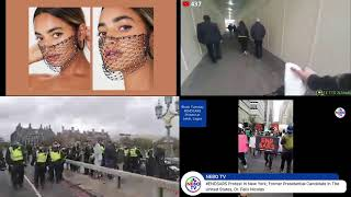 LIVE Anti-COVID measures protests in London, New York & Warsaw Genuine News Live Stream #1