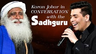 Karan Johar In Conversation with Sadhguru | Spiritual Life