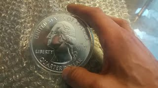 Silver Unboxing And Review From JM Bullion - In Spotlight 2019 5OZ America The Beautiful Coin