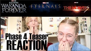 Marvel Phase 4 Teaser REACTION