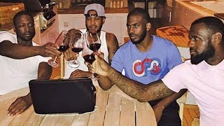 NBA players loving wine for almost six minutes