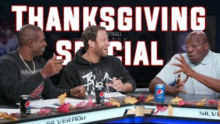 Deion Sanders Surprises Dave Portnoy & Big Cat for Thanksgiving — Pro Football Football Show