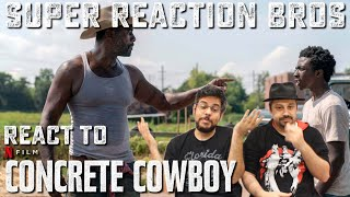 SRB Reacts to Concrete Cowboy | Official Trailer