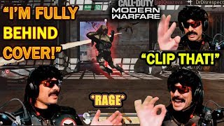 DrDisrespect RAGES & Watches SLOW Replay After Dying BEHIND Cover 3 TIMES in The Same Game! (COD MW)