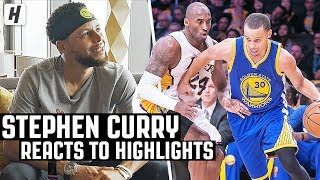 Stephen Curry Reacts To Stephen Curry Highlights! | The Reel