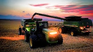 Epic Harvesting Montana Style - Welker Farms Inc