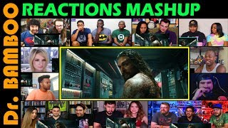 Aquaman - Official Trailer REACTIONS MASHUP