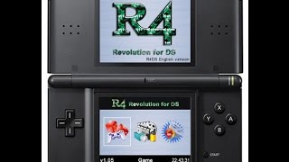 Nintendo DS R4 Card - Unboxing