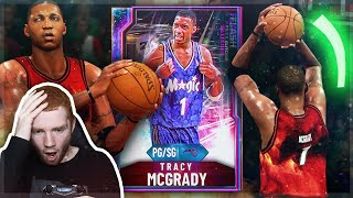*GLITCHED* Galaxy Opal TRACY MCGRADY is INSANE!! He is UNGUARDABLE! (NBA 2K20 MyTeam Gameplay)