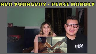 YOUNGBOY NEVER BROKE AGAIN - PEACE HARDLY | Official Music Video | REACTION