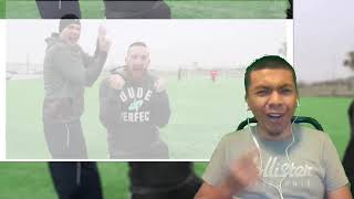 "Deaf reaction to ""Football vs Soccer Trick Shots""