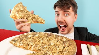 I Ate A $70,000 Golden Pizza