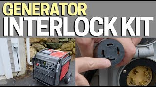 Generator Interlock - Using it & Connecting a Generator to your House