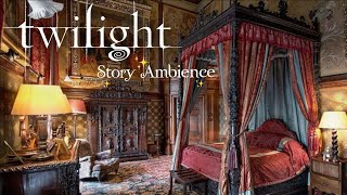 Volturi Castle Bedroom - Twilight Ambience ASMR