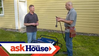How to Install a Manual Transfer Switch for a Portable Generator | Ask This Old House
