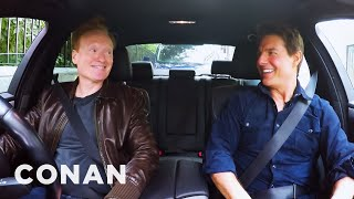 Conan Drives With Tom Cruise - CONAN on TBS