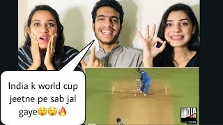 India won world Cup 2011, Beat Pakistan & Sri Lanka in Final | Chak De India | Pakistani Reaction