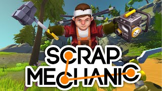 Building my new truck - Scrap Mechanic