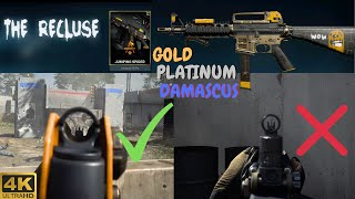 CODMW How to get M16 Iron Sights in Season 4 | Jumping Spider M4 GOLD Recluse Bundle | Warzone