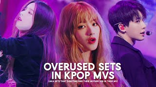 6 overused sets in kpop mv