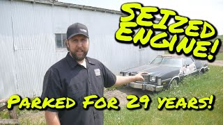 SEIZED Gran Torino Elite will it RUN & DRIVE after 29 years? - Vice Grip Garage EP89