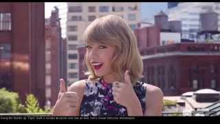Taylor Swift - Big Apple's New York Welcome Ambassador HD