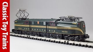 Williams scale O gauge GG1 | Classic Toy Trains magazine