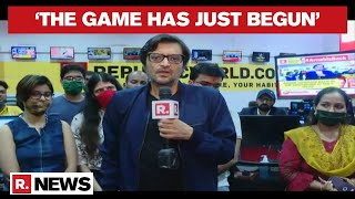 Arnab Goswami Roars: 'The Game Has Just Begun', Announces Launch Of Republic In Every Language