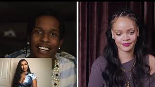 A$AP ROCKY ANSWERS 18 QUESTIONS FROM RIHANNA (REACTION)