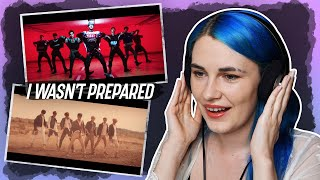 First reaction to '无翼而飞 (Take Off)' and '天选之城 (Moonwalk)' by WayV 威神V