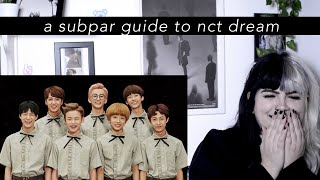 a subpar guide to nct dream | reaction
