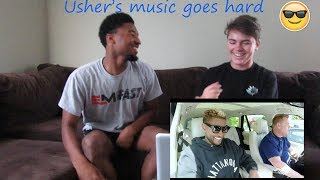 Usher Carpool Karaoke Reaction!!