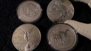5oz Silver Coins! Are Precious Metals In This Form Worth it?