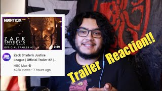 "Zack Snyder's ""Justice League""(2021) Trailer #2 - Trailer Reaction!"