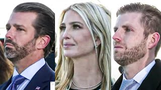 Trump Children Cry As Loser Father Leaves Office