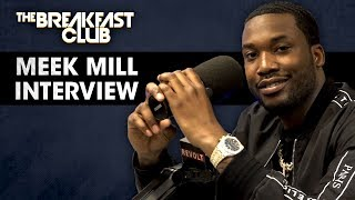 Meek Mill Talks Justice Reform, Opioid Addiction, Talks With T.I. Nicki Minaj + More