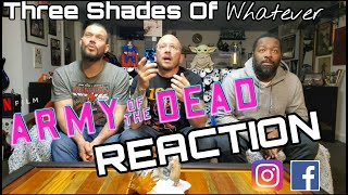 WHEN SMART ZOMBIES AREN'T ENOUGH...A ZIGER?!?! Zack Snyder's Army of the Dead Trailer REACTION!!
