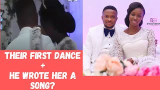 EMOTIONAL 😭- LAWRENCE OYOR SINGS FOR NEW WIFE- DARASIMI MIKE BAMILOYE + FIRST DANCE-😍 (WATCH TO END)