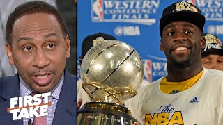 Stephen A. has big expectations for the Warriors next season | First Take