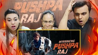 Introducing Pushpa Raj REACTION By MUMBAIKARS | Allu Arjun | Pushpa | Rashmika | Fahadh Faasil | NSM