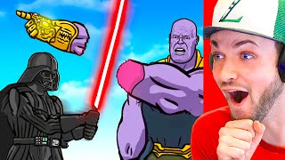 The *ULTIMATE* SUPER-VILLAIN animation BATTLE ROYALE!