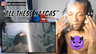 "King Von Ft Lil Durk - ""All These N**gas""  Music Video REACTION"
