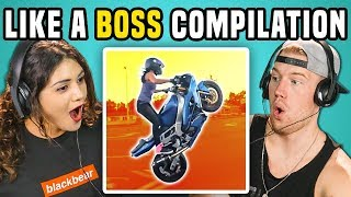 ADULTS REACT TO LIKE A BOSS COMPILATION