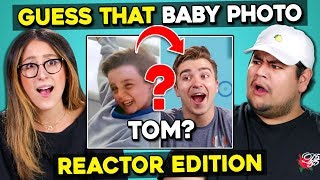Can YOU Guess That Reactor's Baby Photo? | FBE Staff React