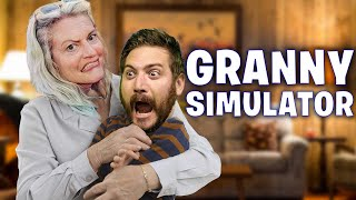 Grandmothers Be Aware - Granny Simulator Funny Moments