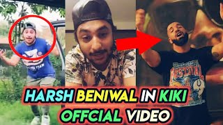 Harsh Beniwal In KIKI In My Feelings - Drake Offcial Video | Reaction - KIKI Challenge | UIC | Neon